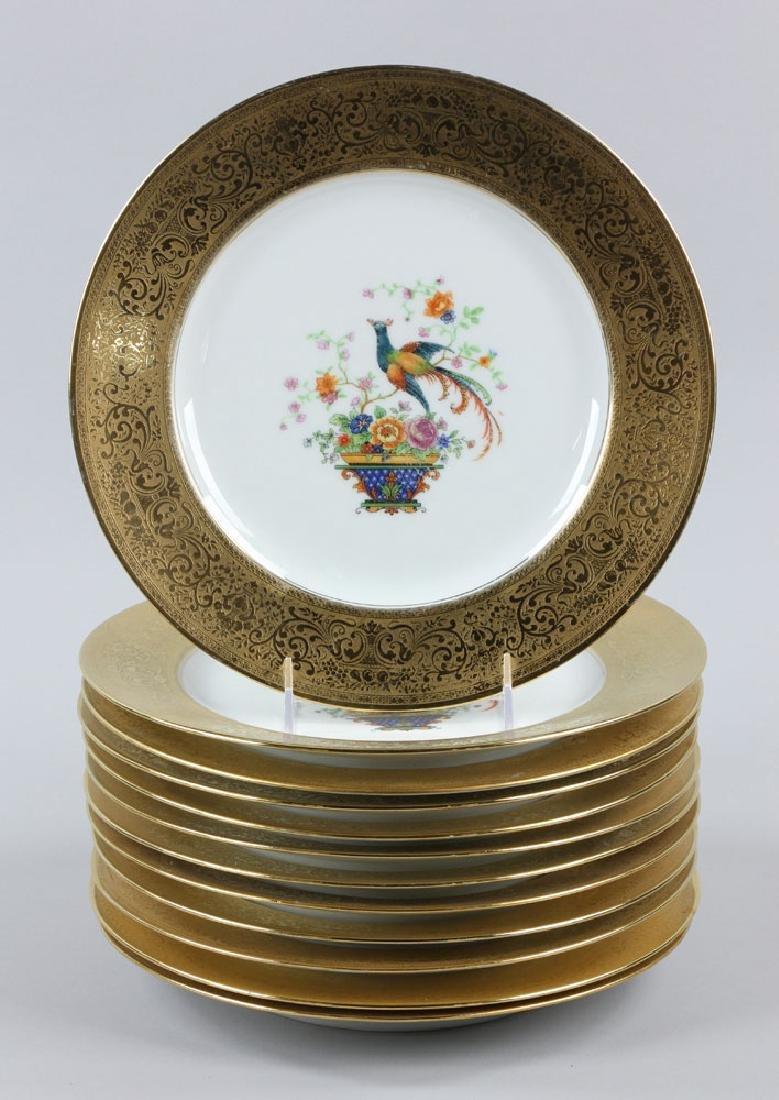 12 Thomas Bavaria Dinner Plates - 2
