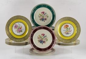 Set of Bavarian Dinner Plates