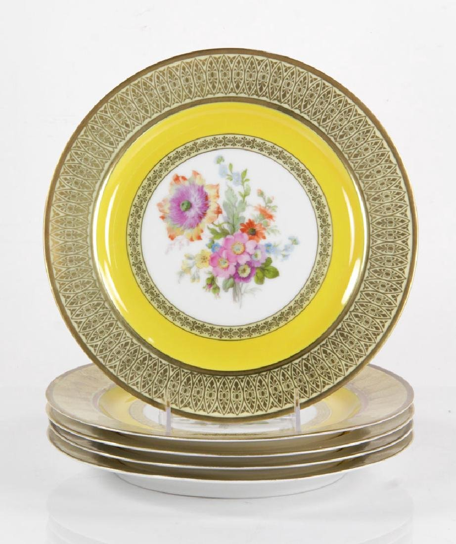 Set of Bavarian Dinner Plates - 7