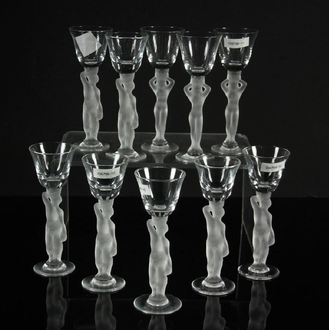 Set of 10 Gallerie Lafayette Cordials