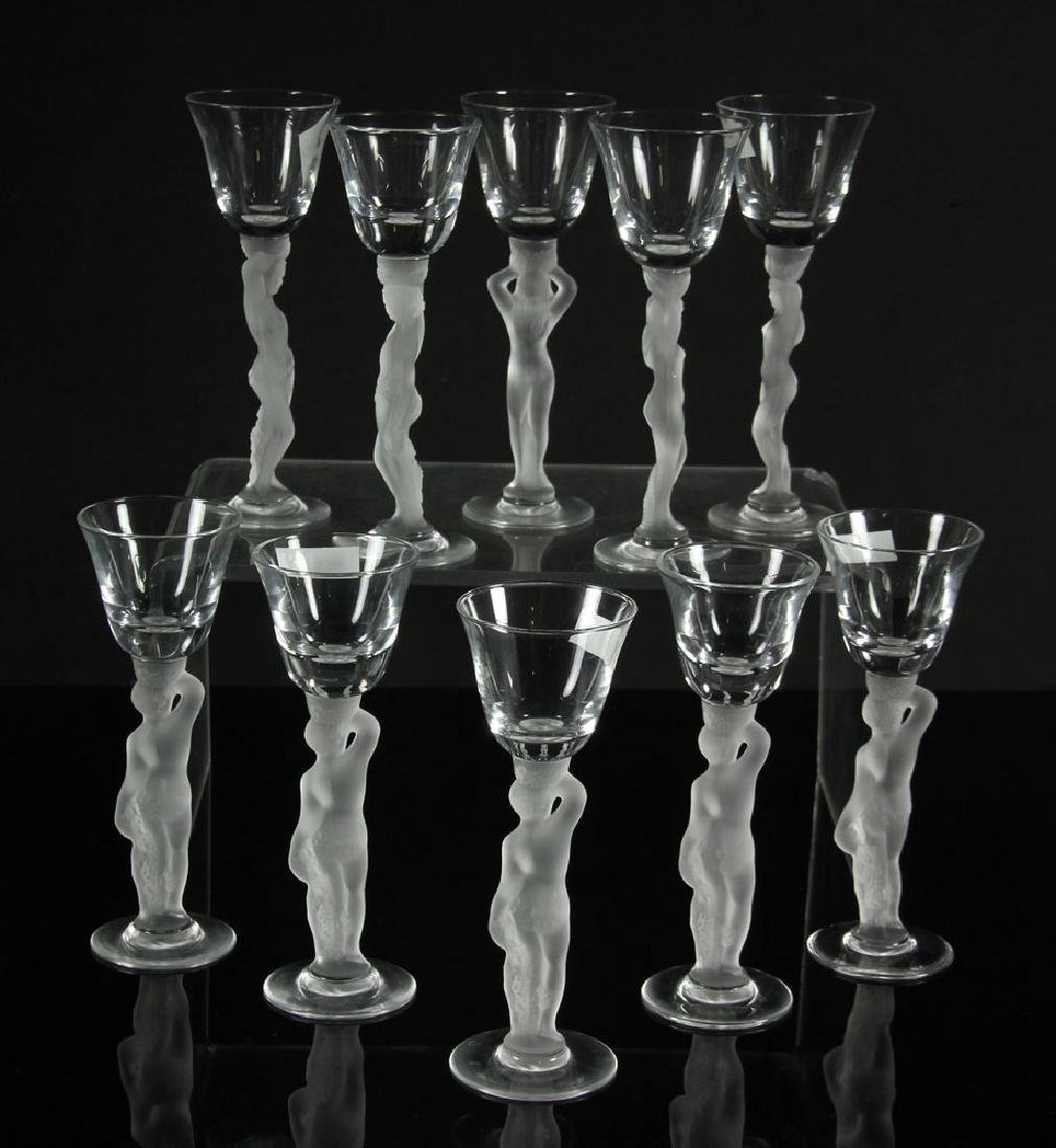 Set of 10 Gallerie Lafayette Cordials - 2