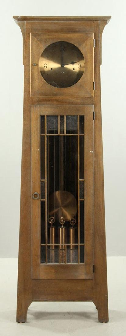Ethan Allen Mission Oak Tall Clock