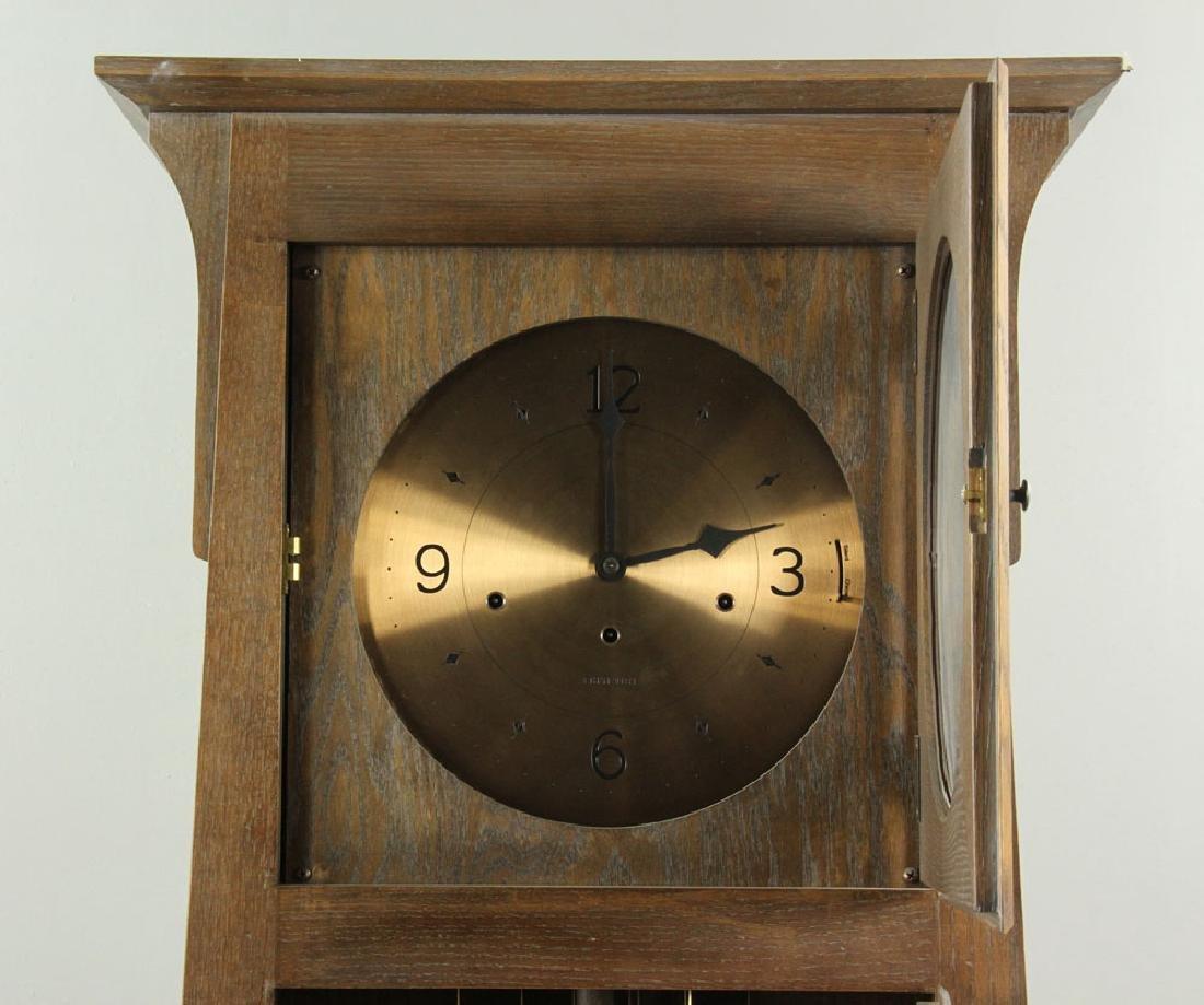Ethan Allen Mission Oak Tall Clock - 4