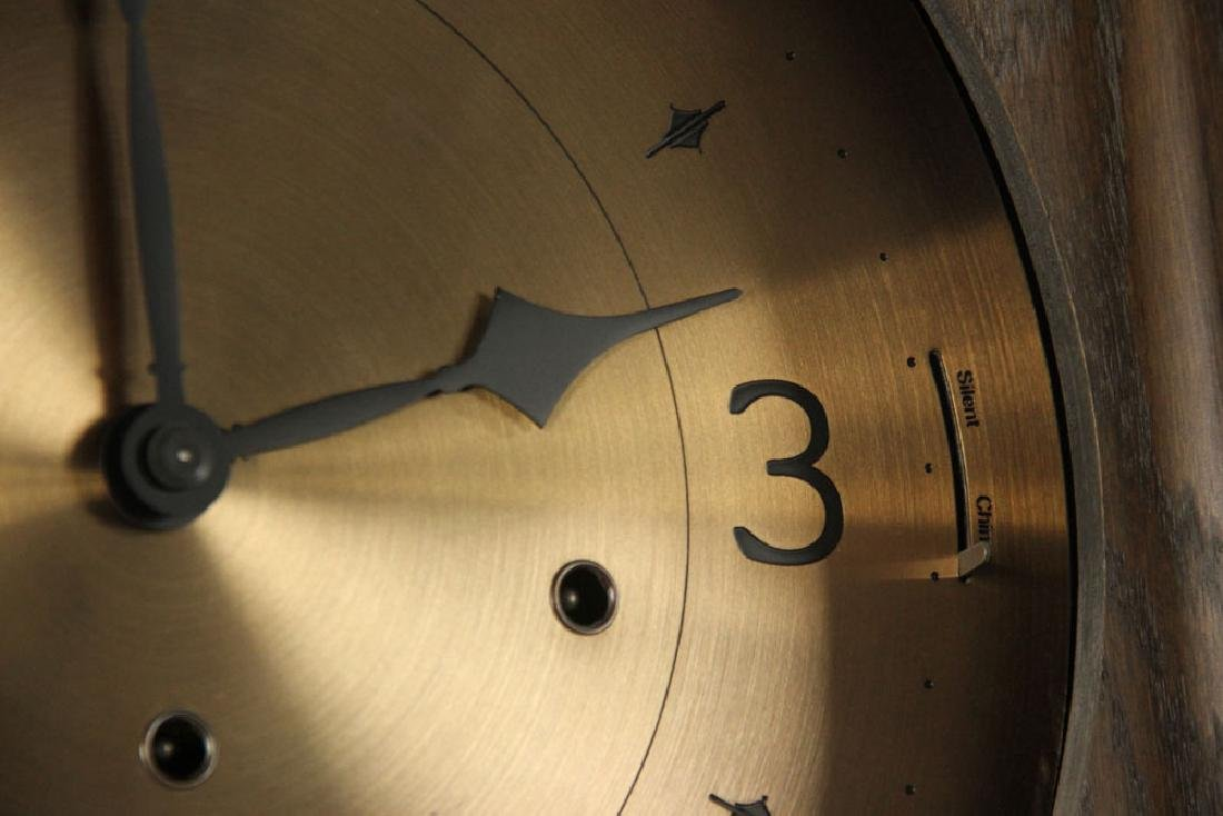 Ethan Allen Mission Oak Tall Clock - 6
