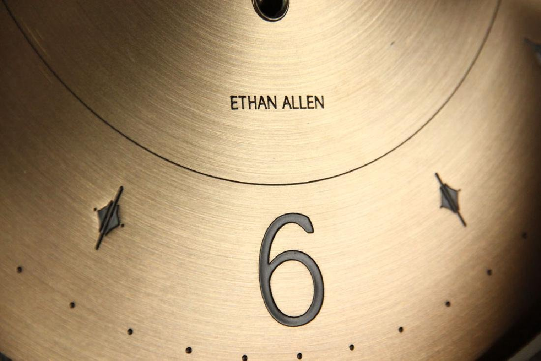 Ethan Allen Mission Oak Tall Clock - 7