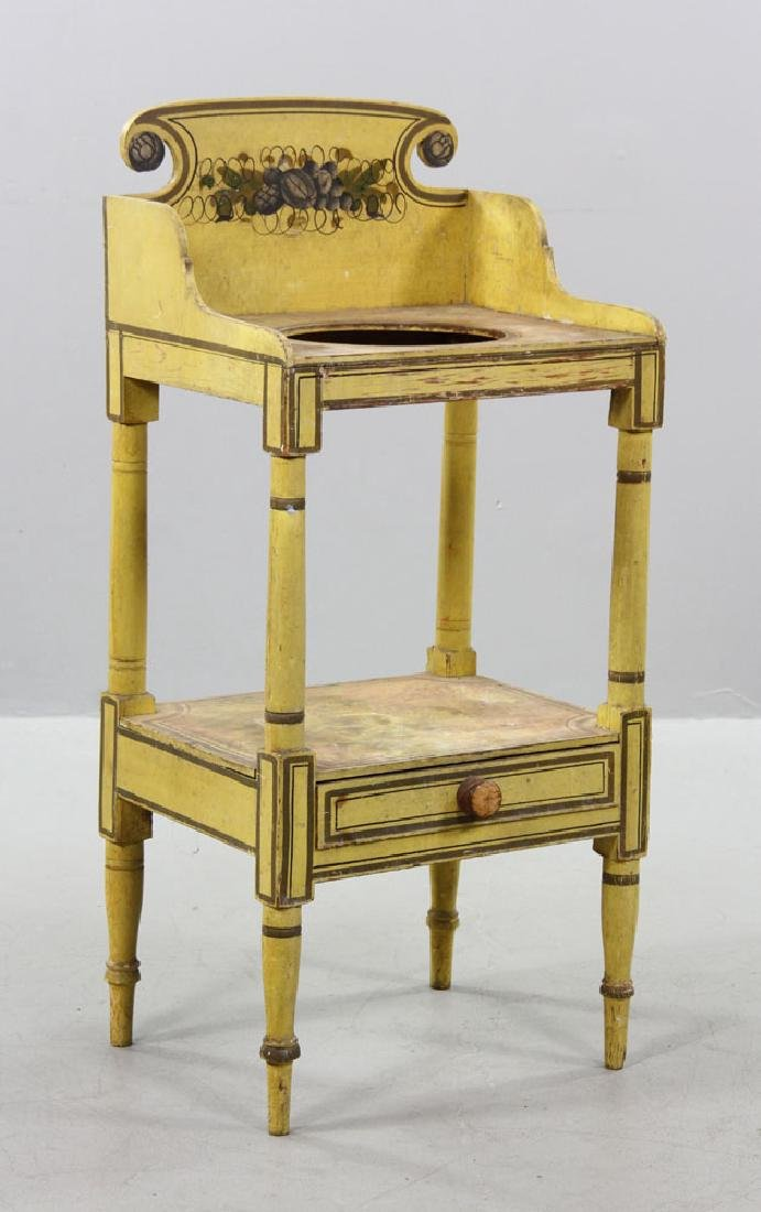19th C. New England Sheraton Commode