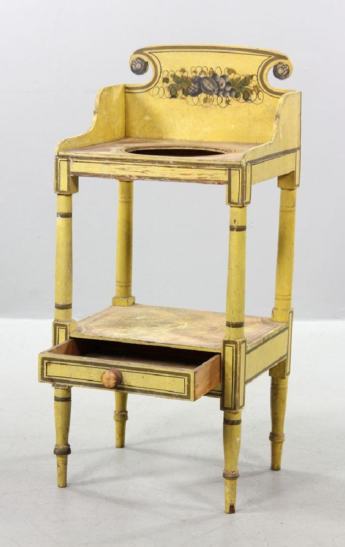 19th C. New England Sheraton Commode - 3