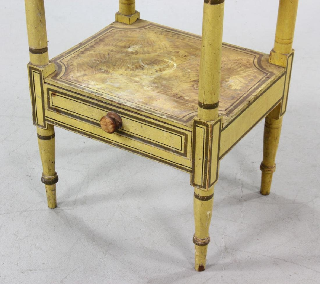 19th C. New England Sheraton Commode - 4
