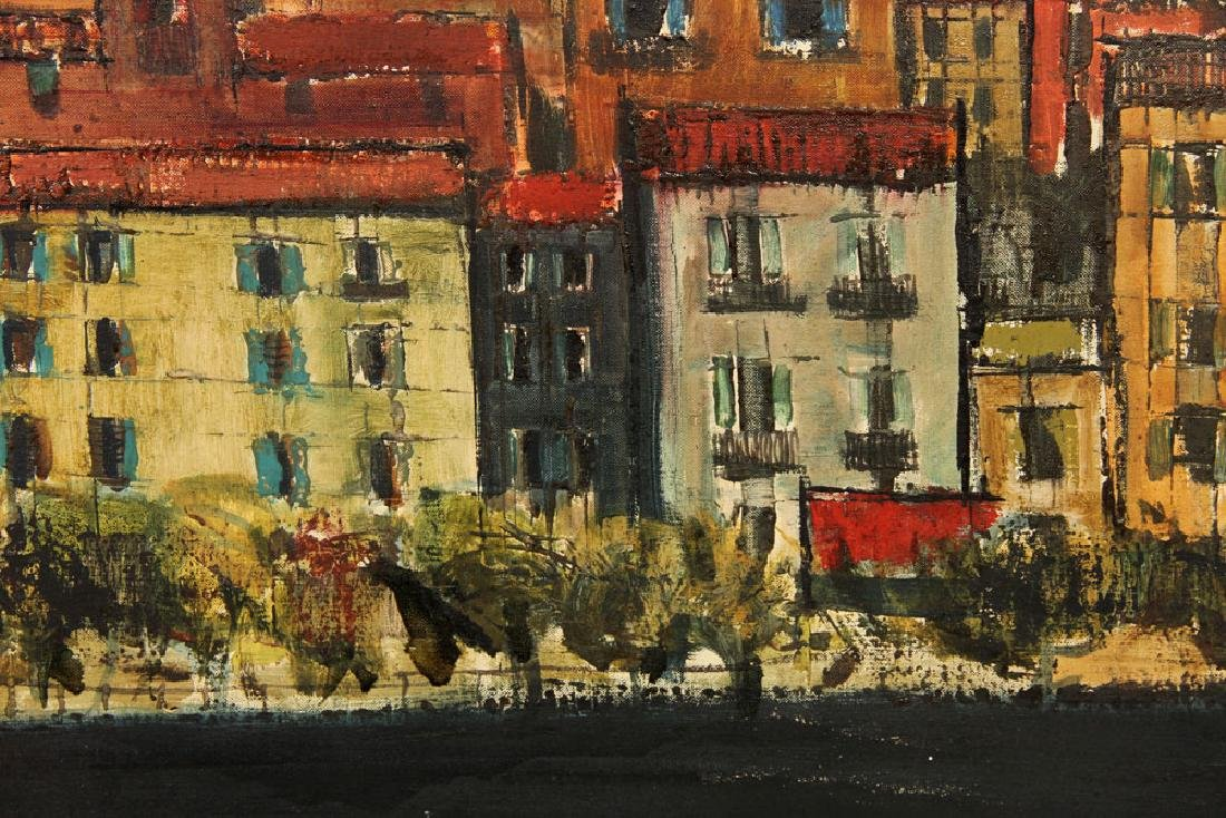Miller, Village View, Oil on Canvas - 3