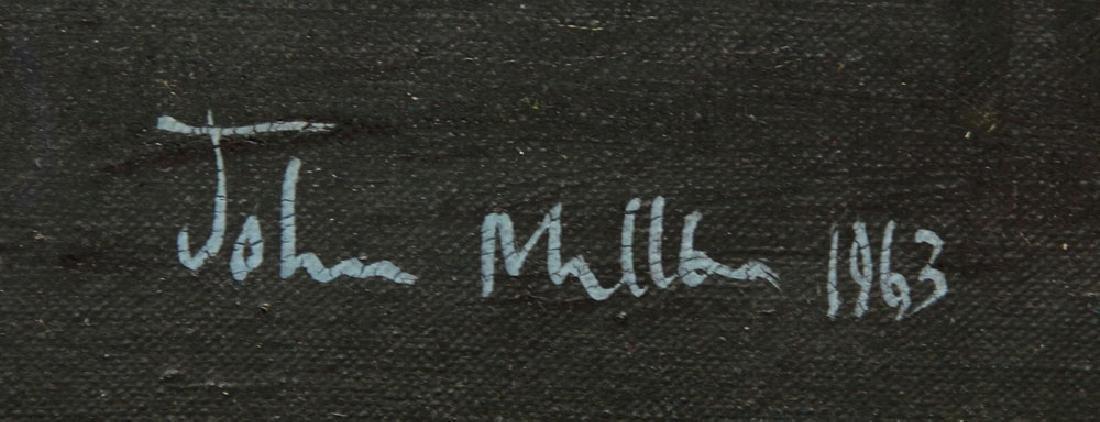 Miller, Village View, Oil on Canvas - 4