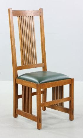 Stickley Spindle Back Chair
