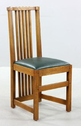 Mission Oak Chair