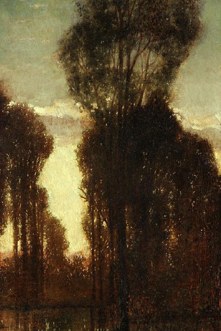 Attr. Knab, Forest View, Oil on Board - 5