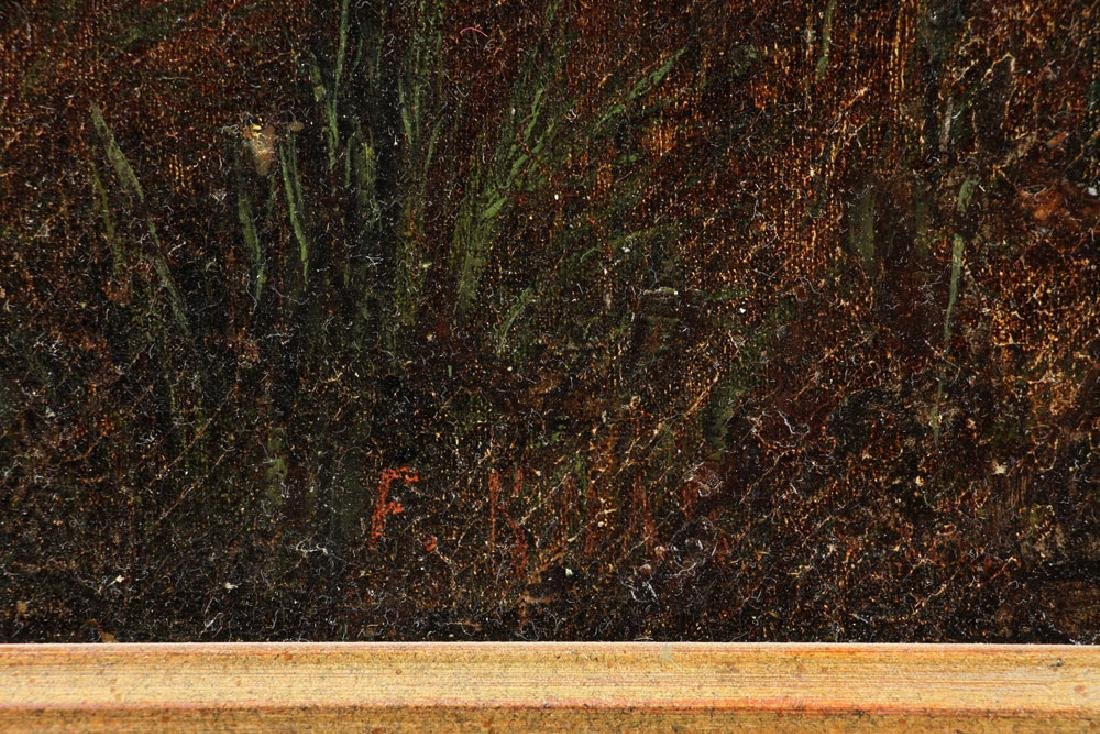 Attr. Knab, Forest View, Oil on Board - 7