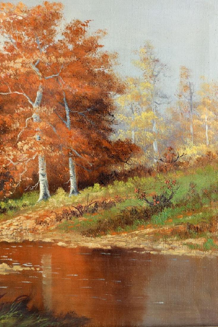 Philbrick, Autumn Landscape, Oil on Canvas - 4