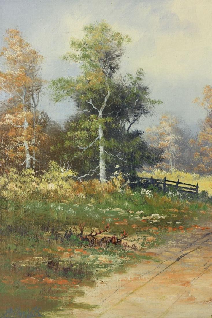 Philbrick, Autumn Landscape, Oil on Canvas - 5