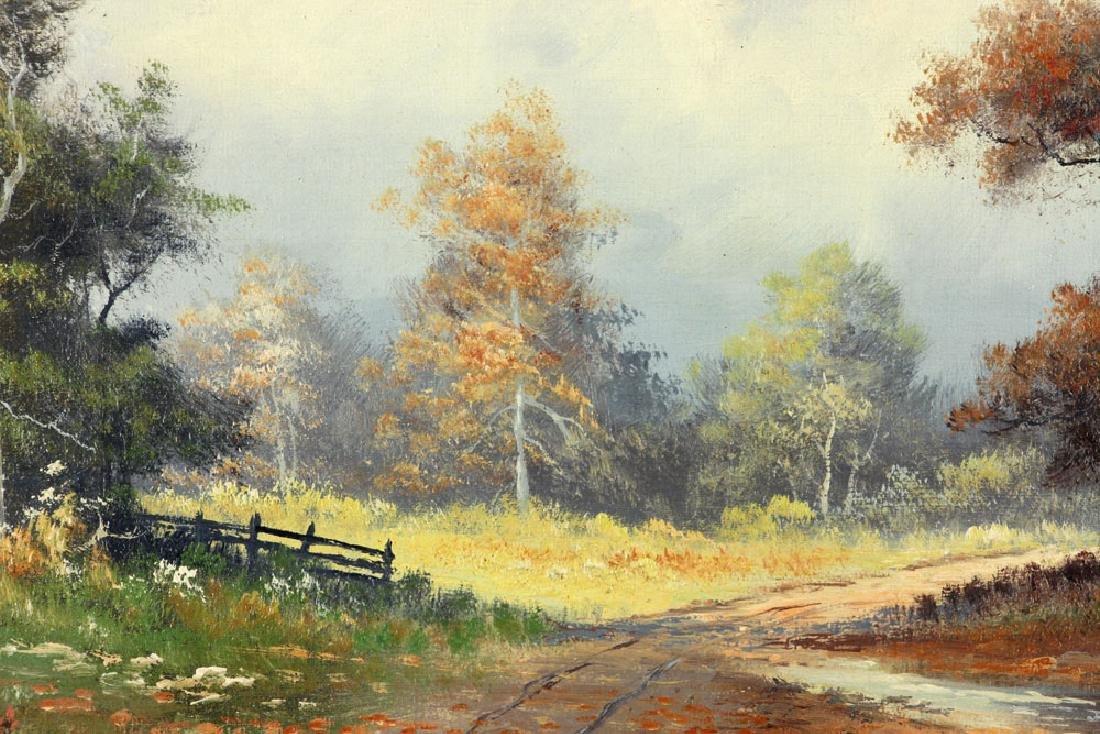 Philbrick, Autumn Landscape, Oil on Canvas - 6
