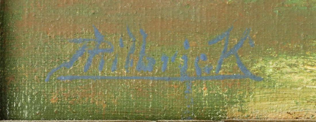 Philbrick, Autumn Landscape, Oil on Canvas - 8