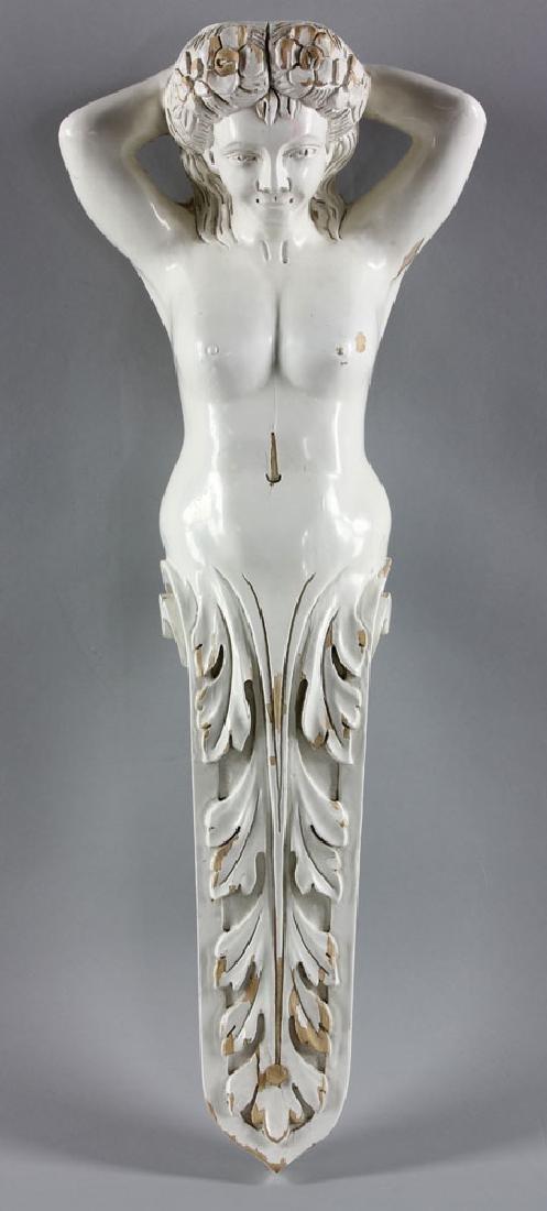 Hawaiian Carved Figurehead