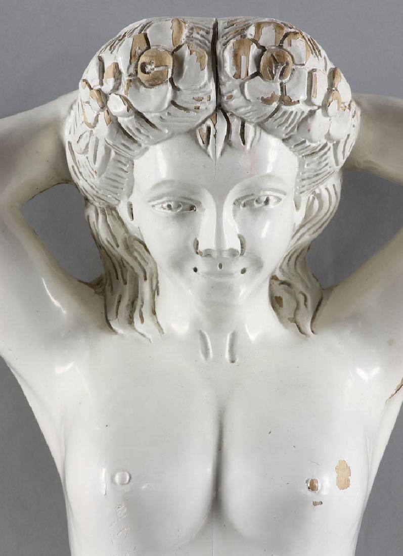 Hawaiian Carved Figurehead - 2