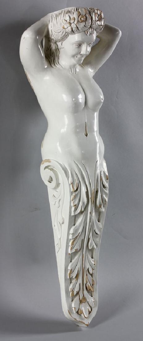 Hawaiian Carved Figurehead - 3