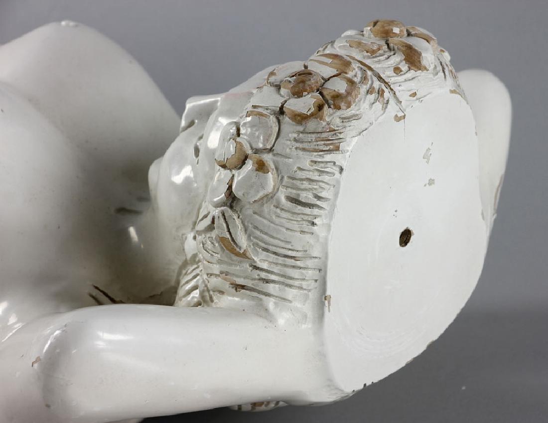 Hawaiian Carved Figurehead - 8