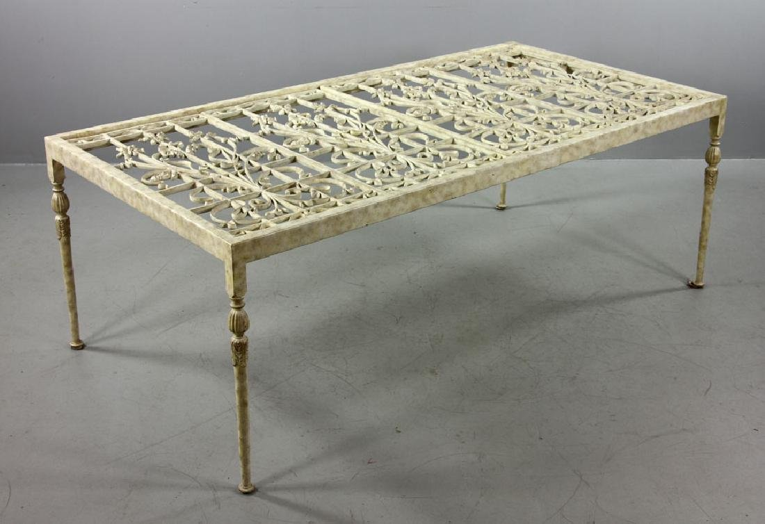 20th C. Italian Iron Table - 7
