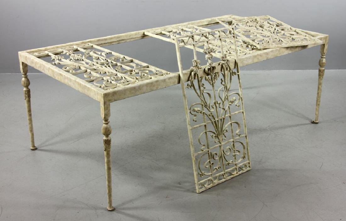 20th C. Italian Iron Table - 8