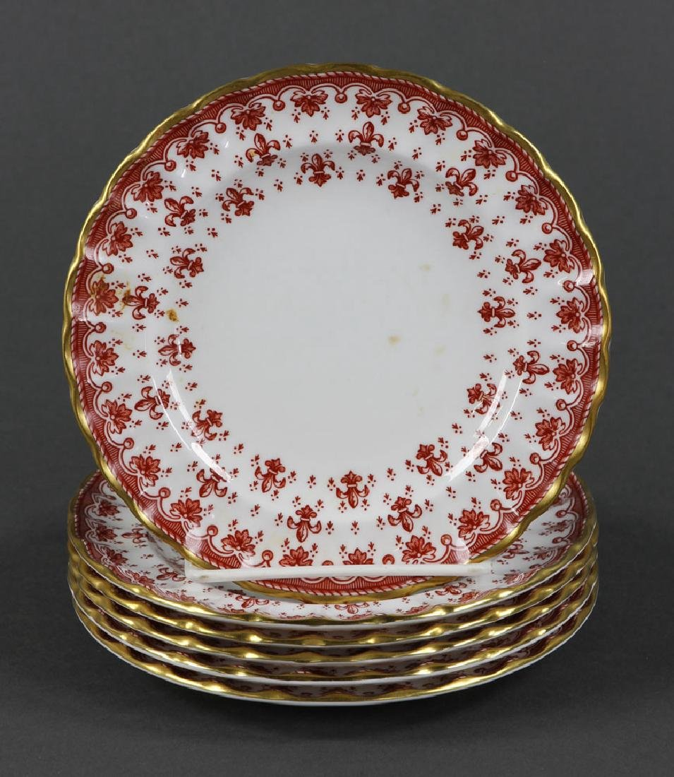 """Spode """"Fleur de Lys"""" Porcelain Service for 6 - 10"""