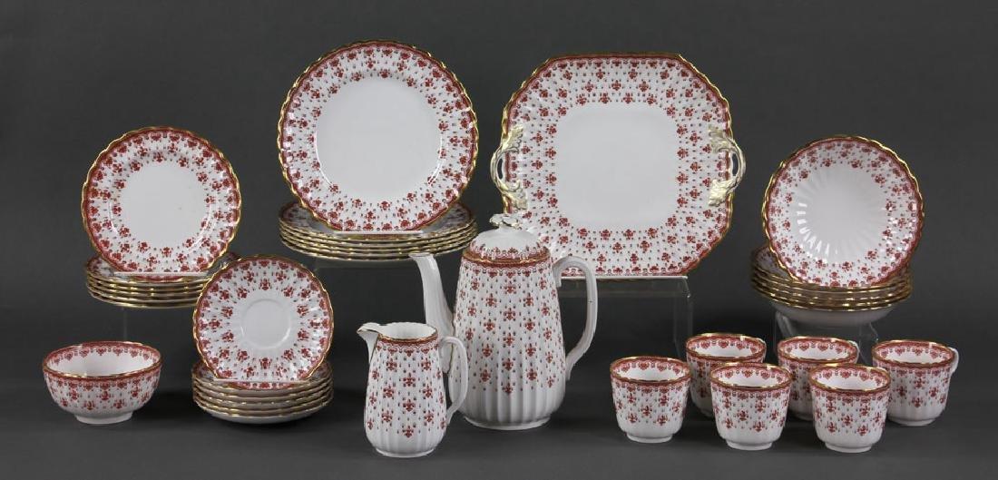 """Spode """"Fleur de Lys"""" Porcelain Service for 6"""