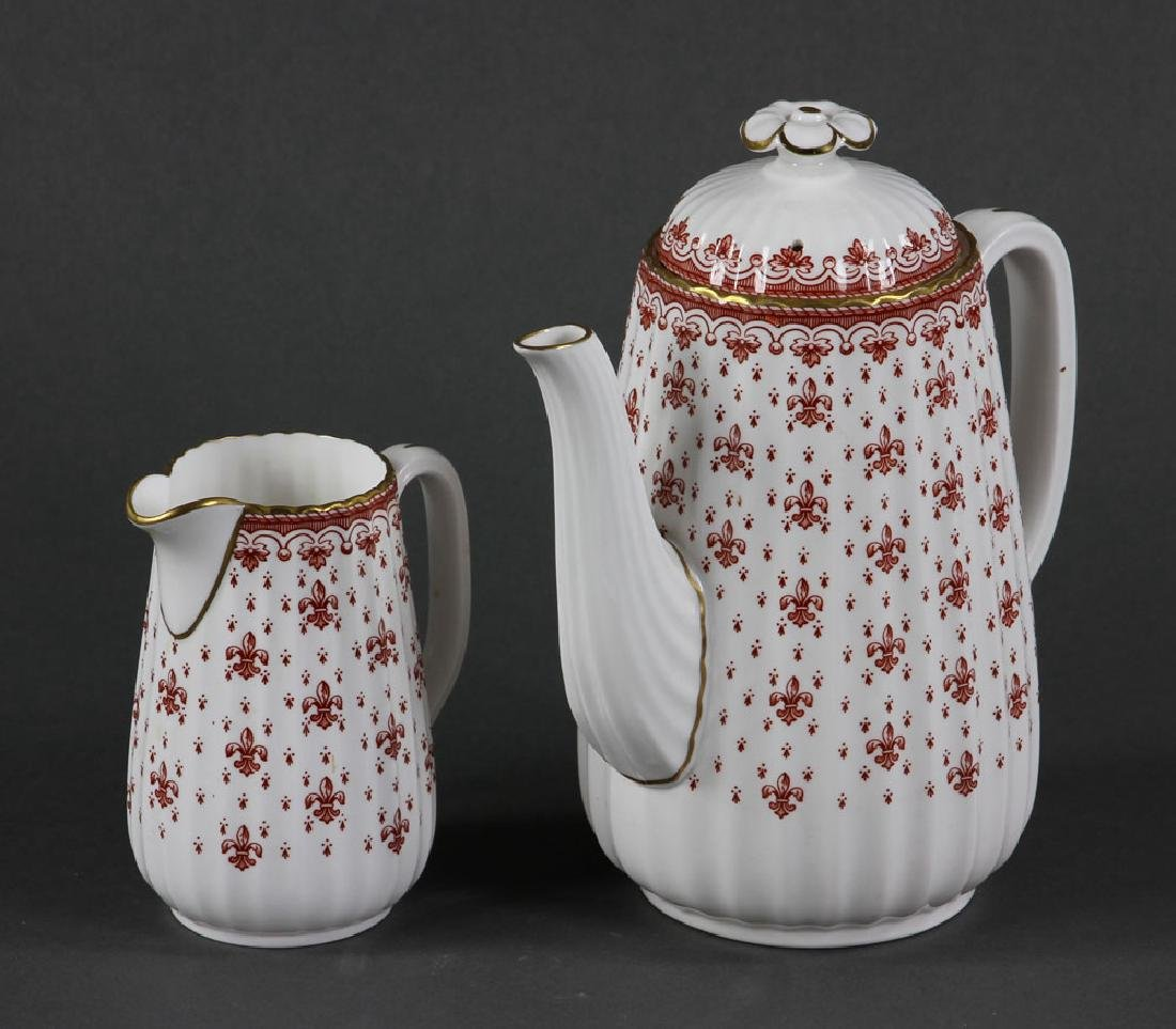 """Spode """"Fleur de Lys"""" Porcelain Service for 6 - 2"""