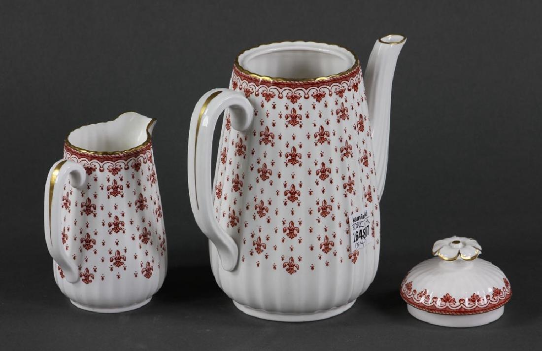 """Spode """"Fleur de Lys"""" Porcelain Service for 6 - 3"""