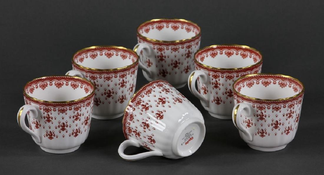 """Spode """"Fleur de Lys"""" Porcelain Service for 6 - 5"""