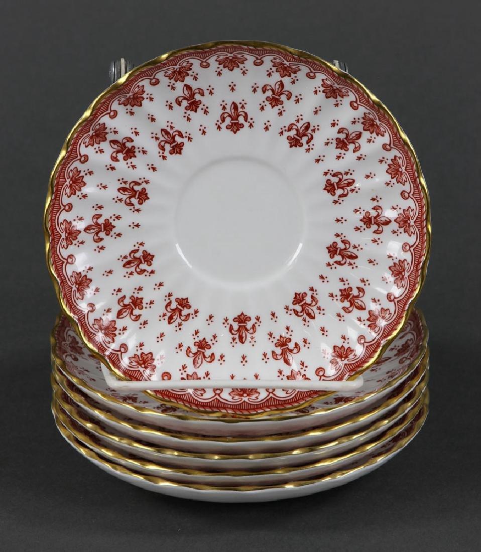 """Spode """"Fleur de Lys"""" Porcelain Service for 6 - 6"""