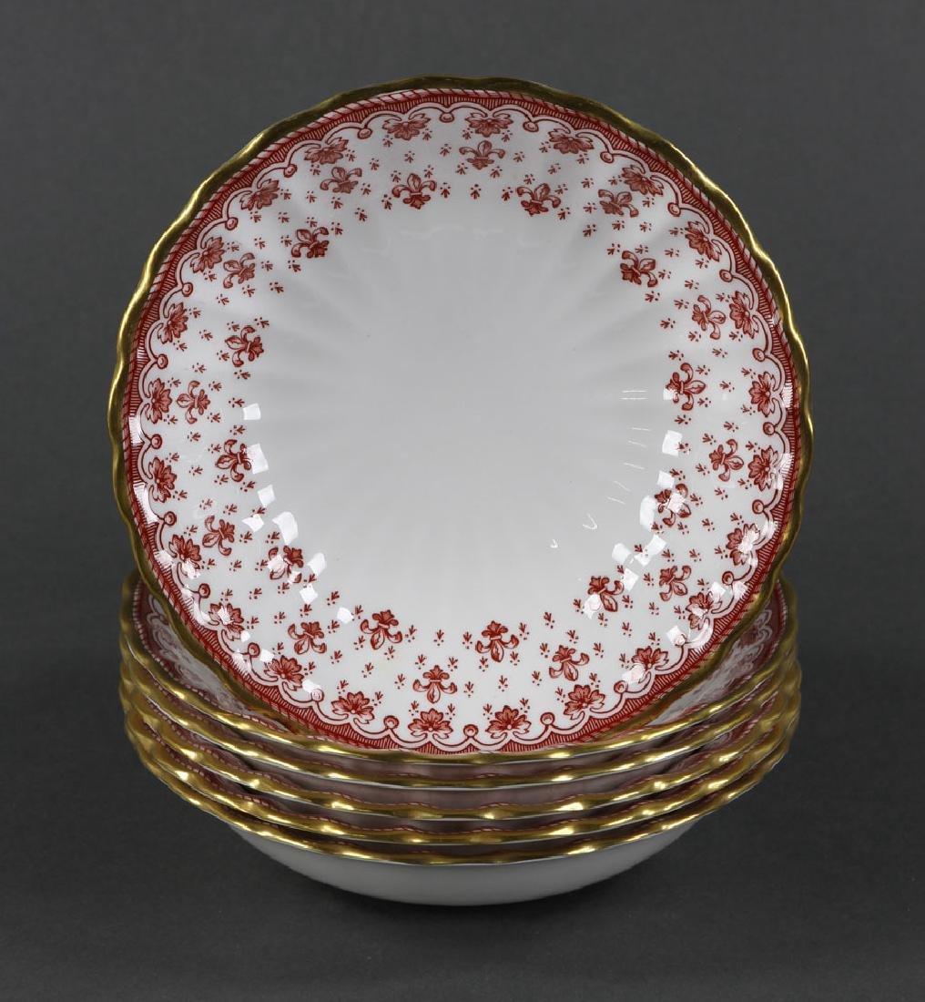 """Spode """"Fleur de Lys"""" Porcelain Service for 6 - 8"""