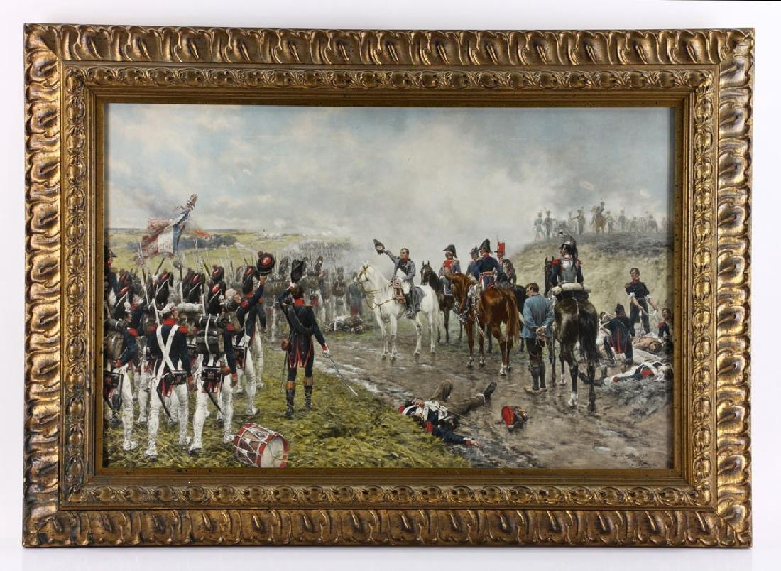 Crofts, Napoleonic Scene, Lithograph