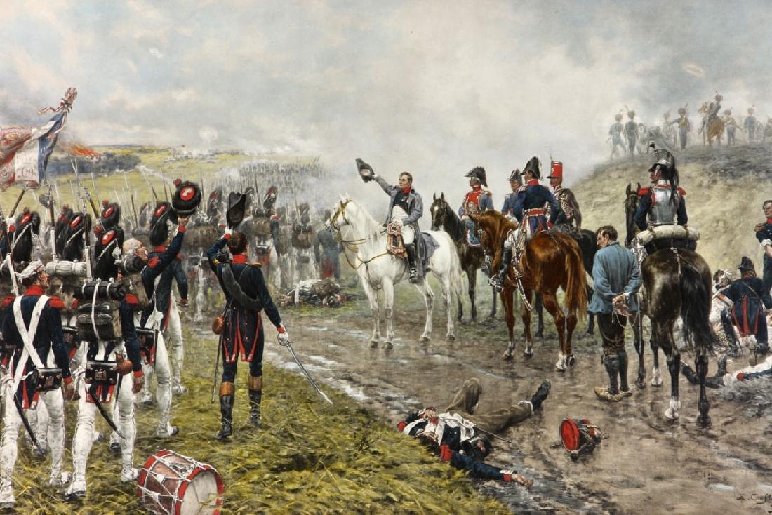 Crofts, Napoleonic Scene, Lithograph - 2