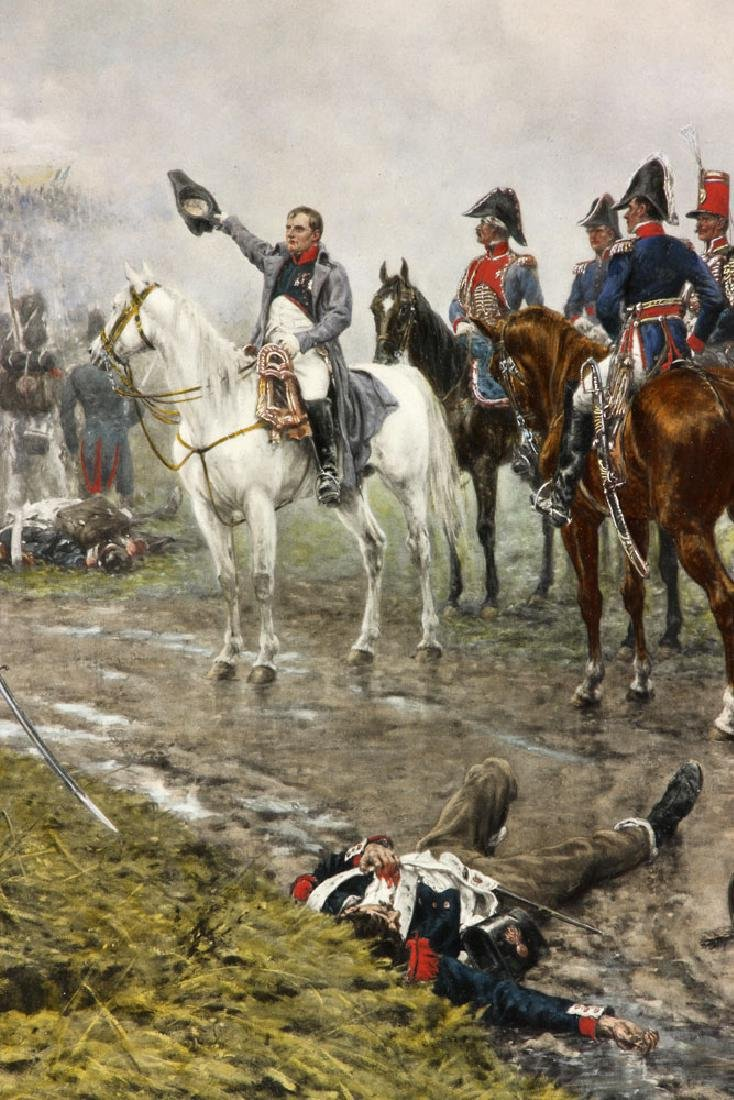 Crofts, Napoleonic Scene, Lithograph - 3
