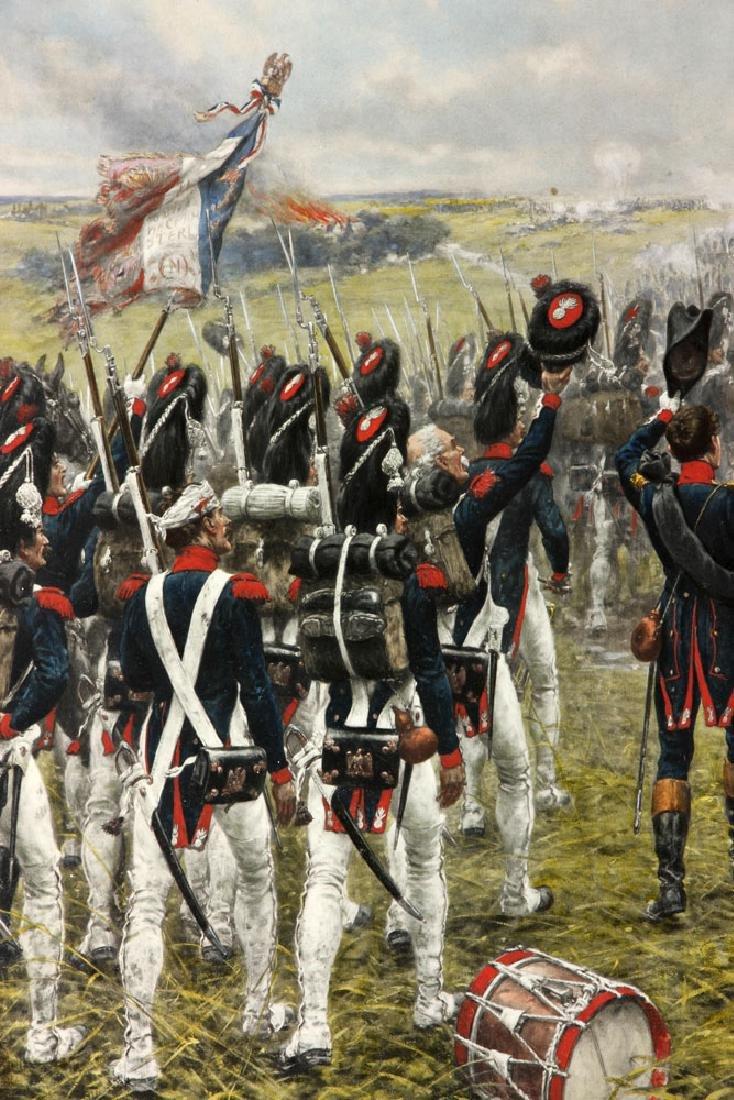 Crofts, Napoleonic Scene, Lithograph - 5
