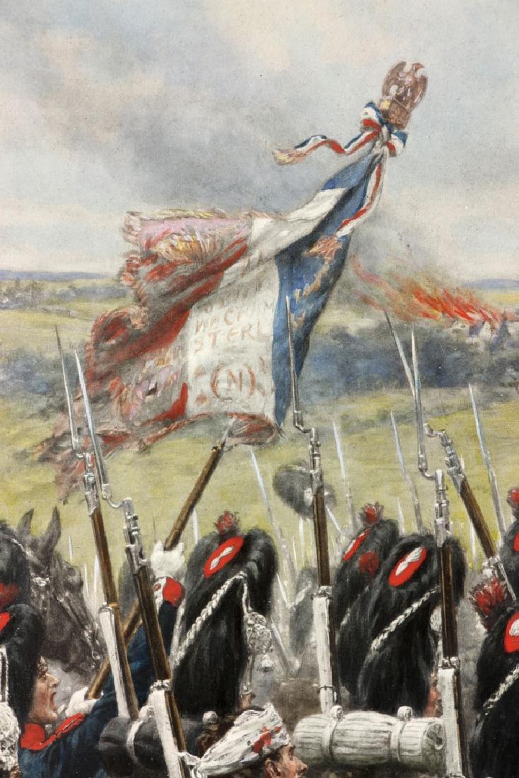 Crofts, Napoleonic Scene, Lithograph - 7