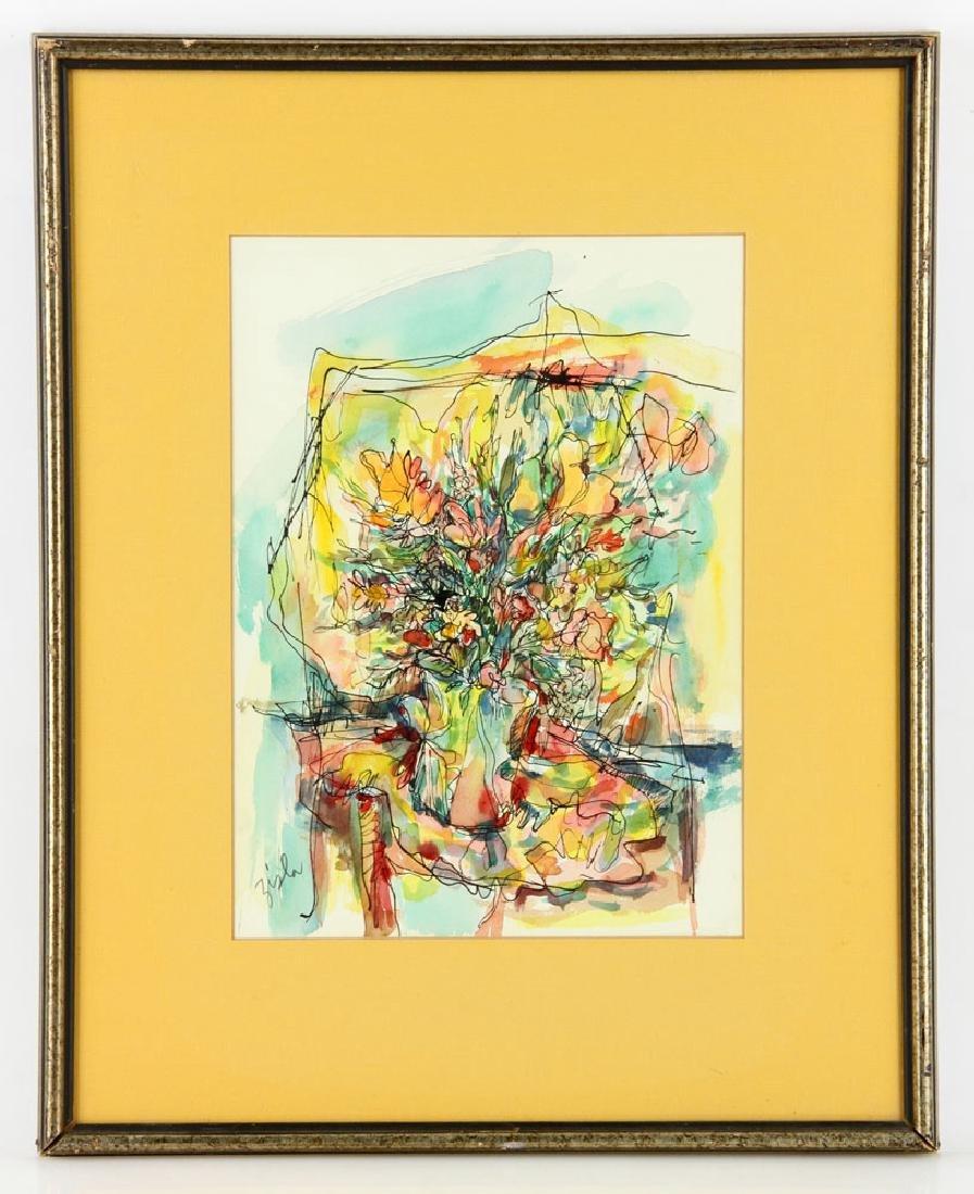 Zisla, Lot of 2 Paintings - 2