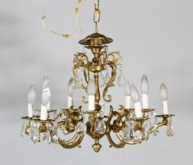 French Style Crystal Chandelier
