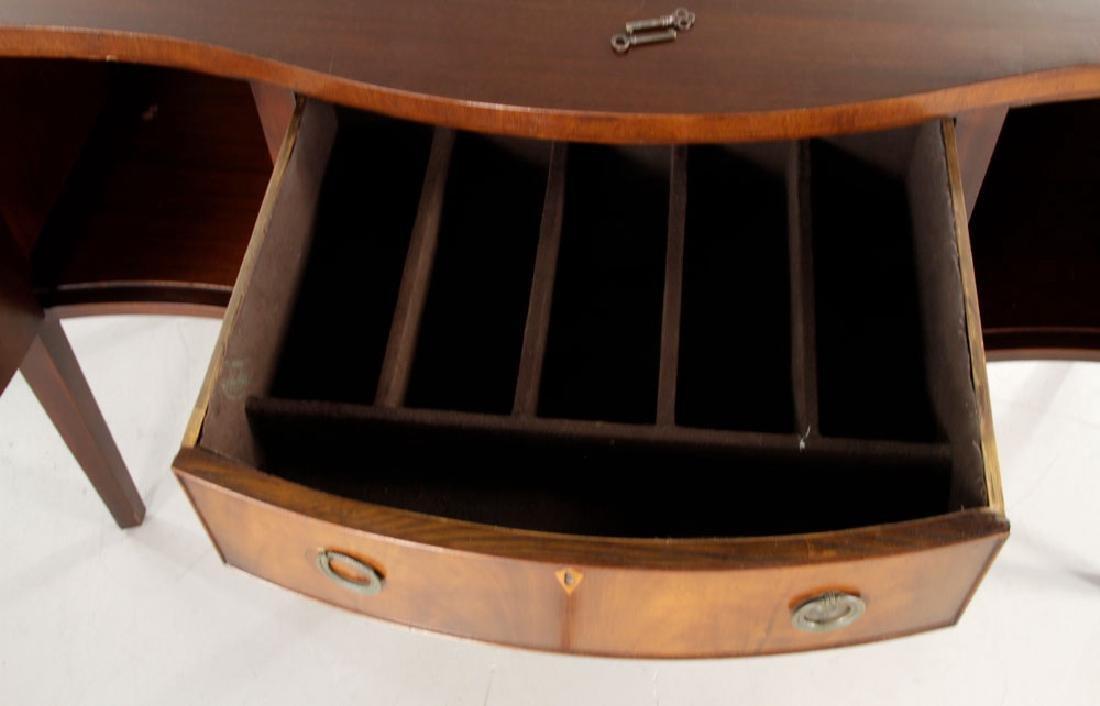Custom Hepplewhite Mahogany Sideboard - 4