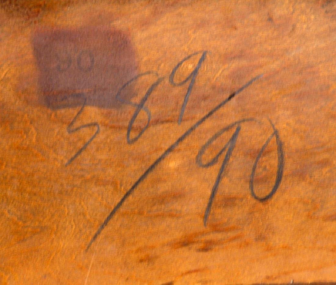 Custom Hepplewhite Mahogany Sideboard - 9