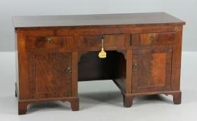 Custom Federal Style Mahogany Desk