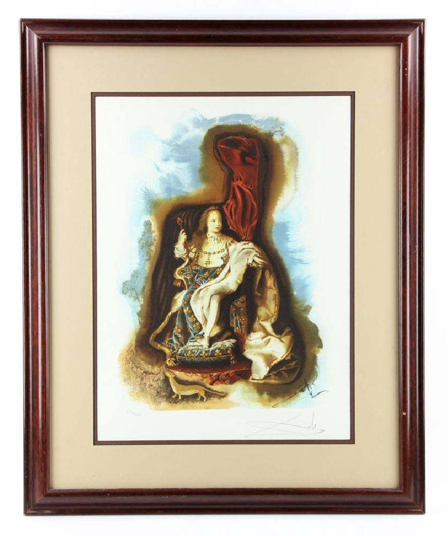 "Dali, ""The Little King,"" Print"