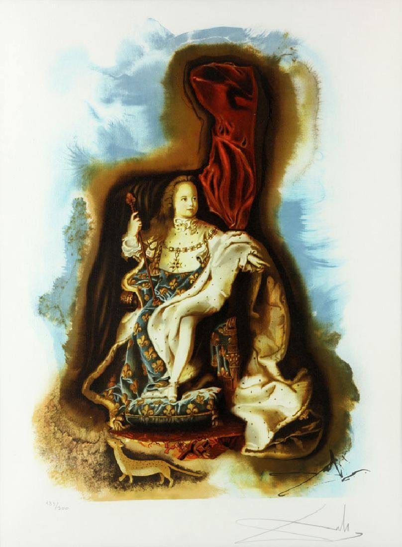 "Dali, ""The Little King,"" Print - 3"