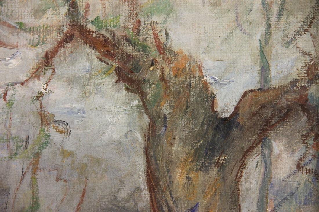 """Nikolov, """"The Shepherdess,"""" Oil on Canvas - 6"""