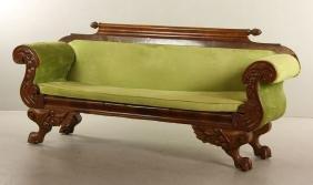 19th C. Federal Sofa