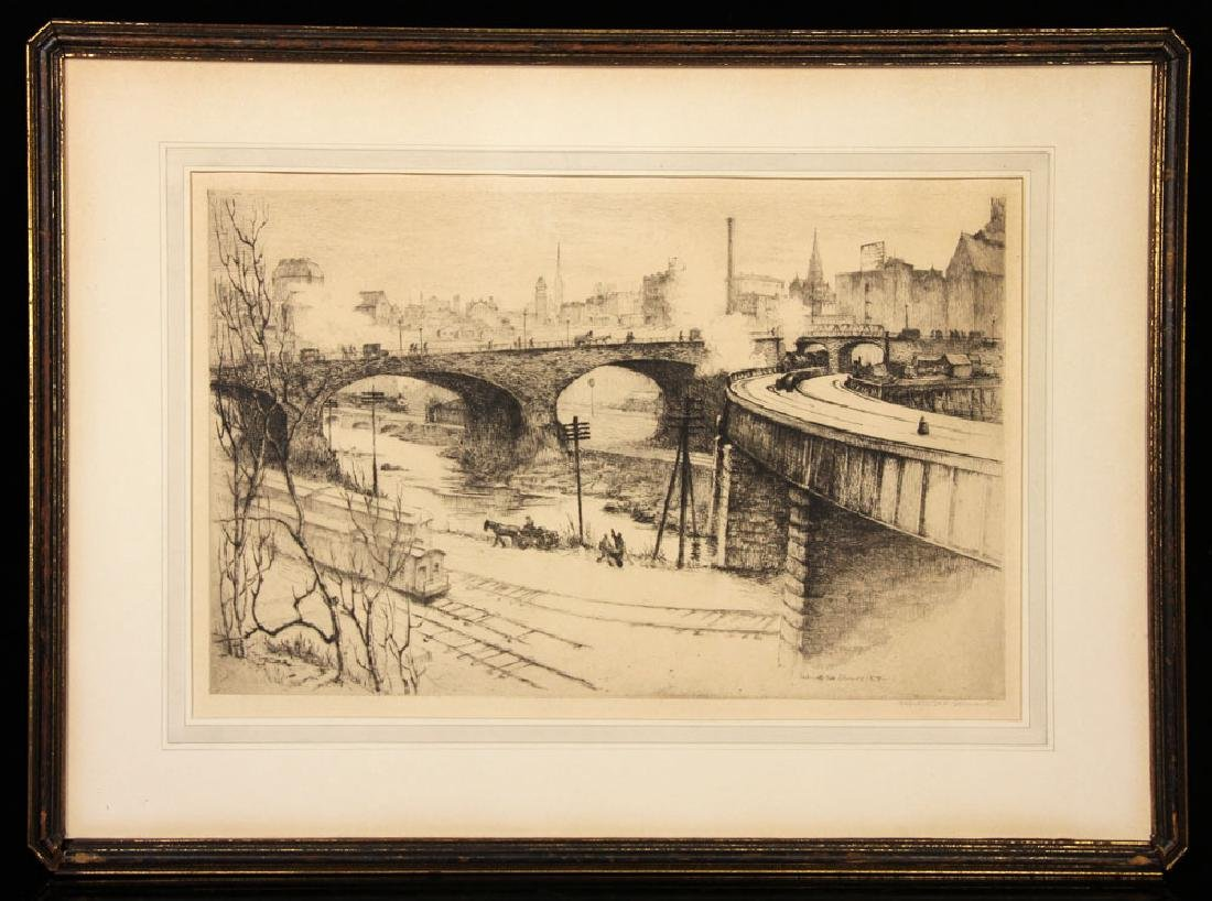 Clements, Lot of 4 Etchings - 2